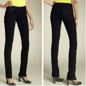 Marc by Marc Jacobs Black Chrissie Skinny Jeans